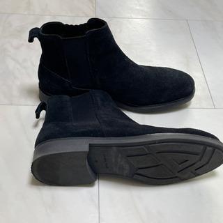 値下げしました⁉️ZARAのスウェードのメンズショートブーツ 4000円→2500円ほぼ未使用 - 靴/バッグ