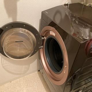 【商談中】TOSHIBA ZABOON 洗濯11kg 乾燥7kg...