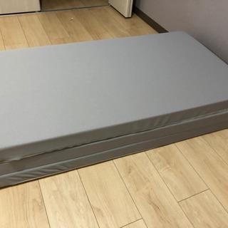 ニトリ 折りたたみマットレス(SD) 「取引中」 − 千葉県