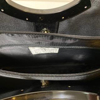 エナメル ハンドバッグ ブラック 2点 - 売ります・あげます