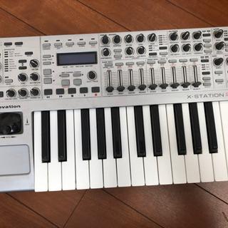 Novation X-STATION 25 MIDIキーボ…