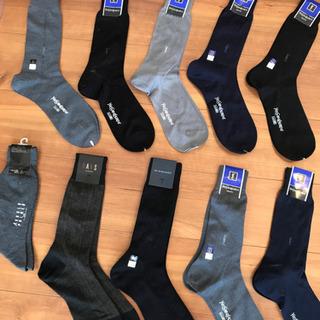 新品‼︎紳士物の靴下サイズ25センチ10足‼︎