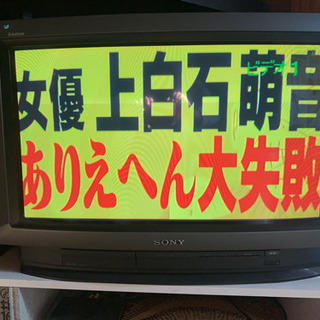 SONY トリニトロン 28インチ 地デジ付き ソニー テレビ