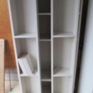 ニトリ 本棚スライド書棚 美品 棚あり 金具あり 美品