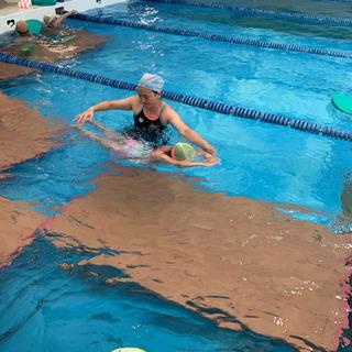 無料体験 子供水泳練習