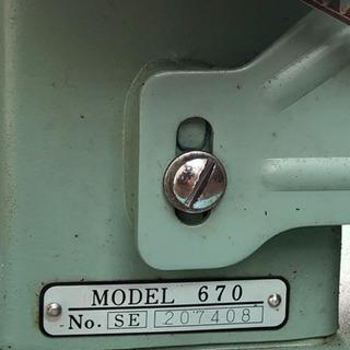 ジャノメ ミシン JANOME MODEL 670 M-150 ...
