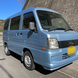 平成20年 サンバー バン TV1 ブルー 2WD AT AC ...