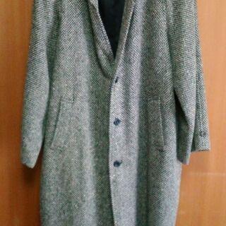 コート ウール レトロ - 服/ファッション