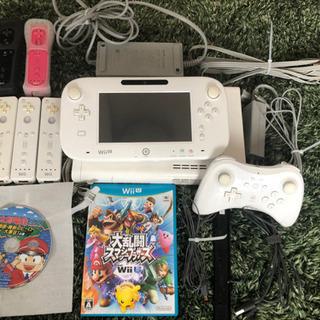 【ネット決済・配送可】【最終値下げです!】WiiU本体 proコ...