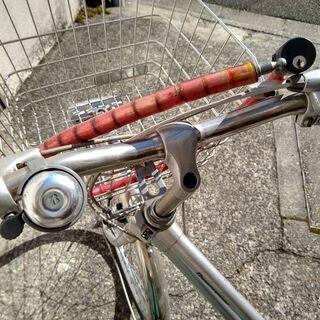 <値下げ>ブリジストン 26インチ・3段変速自転車 カゴ・ワイヤーロック+ラウンドロック付き − 京都府