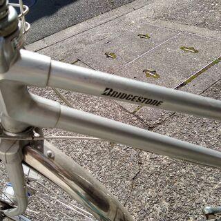 <値下げ>ブリジストン 26インチ・3段変速自転車 カゴ・ワイヤーロック+ラウンドロック付き - 自転車