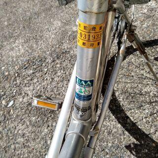 <値下げ>ブリジストン 26インチ・3段変速自転車 カゴ・ワイヤーロック+ラウンドロック付き - 売ります・あげます