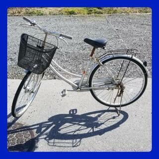自転車     26インチ  ライト付き  シティ車   ママチャリ の画像