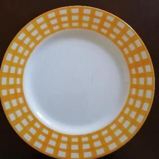 黄色の大皿