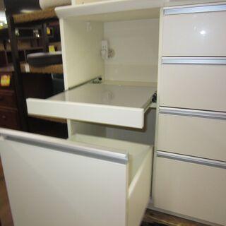 R052 高級 PAMOUNA キッチンボード、食器棚、幅120cm 美品 - 家具