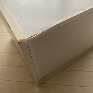 2段収納カラーボックス 白 − 愛知県