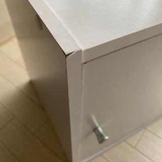 扉付き収納 カラーボックス - 家具