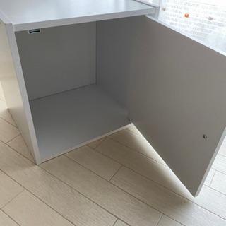 扉付き収納 カラーボックス