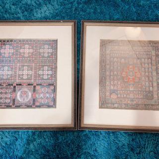 曼荼羅 東寺 2枚セット