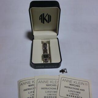 ★ANNE  KLEIN Ⅱレデース腕時計、稼働中★殆ど使用せず...