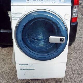 SHARP  ES-V210★ドラム式  洗濯9㎏ 乾燥6㎏