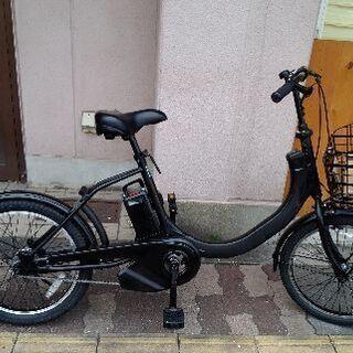 美品☆Panasonic SW 20吋電動アシスト自転車 …
