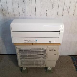 富士通 冷暖房除湿ルームエアコン AS-226EE4 2.…