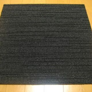 日本製タイルカーペット厚み7mm・1枚190円・在庫338枚(3...