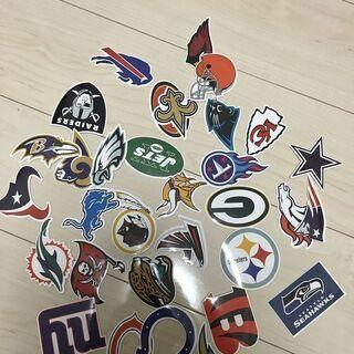 【ネット決済・配送可】NFLアメリカンフットボール 全32チーム...