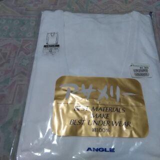 新品、LLサイズ、U首アンダーシャツです。
