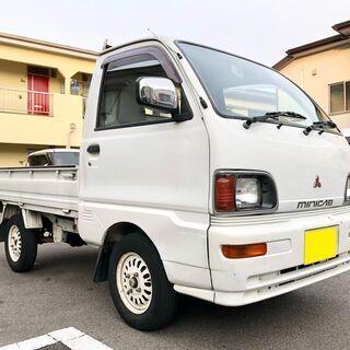 ミツビシ ミニキャブトラック 5MT エアコン パワステ 車検付き!