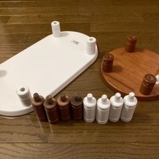 ペット用木製テーブル2点セット − 東京都