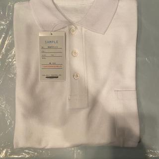 学校用 ポロシャツ 長袖・半袖あります。