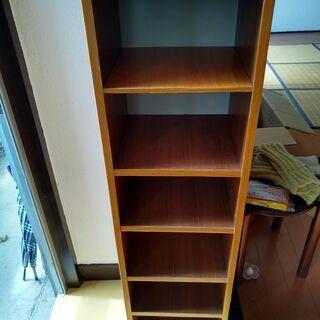 6段茶色棚・カラーボックス - 京都市
