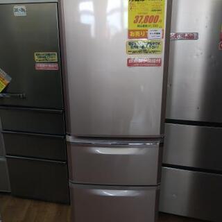 S138★6か月保証★3ドア冷蔵庫★MITSUBISHI  MR-C37T  2011年製⭐動作確認済⭐クリーニング済の画像