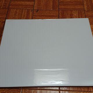 【0円: 無料で差し上げます】カラー棚板 白色 450×354 ...