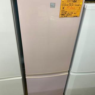 2ドア冷蔵庫 シャープ 中古 リサイクルショップ宮崎屋21.2.18