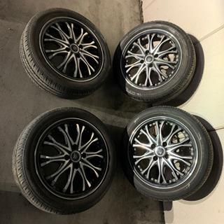 ロクサーニホイール&ブリジストン製タイヤ溝7-8割