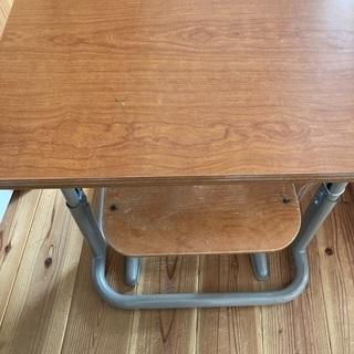 【ネット決済】学校 机 椅子 学習机