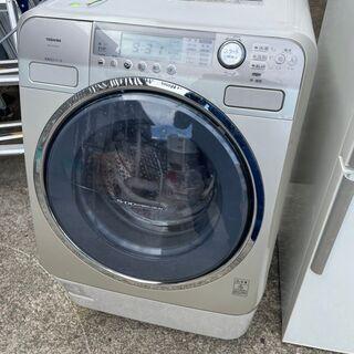 即決ドラム式洗濯機 9k ファミリー用 給水排水お風呂ホー…