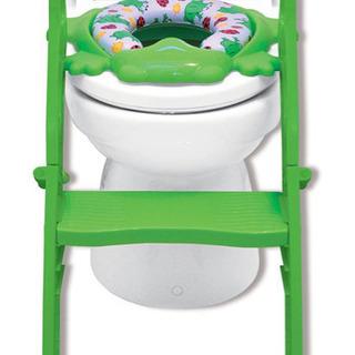 トイレトレーニング ステップ式 折り畳み 子供補助便座