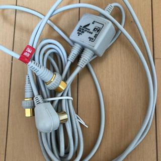 テレビ分配器 地デジ.BS.CS.UV.2分配器(3)