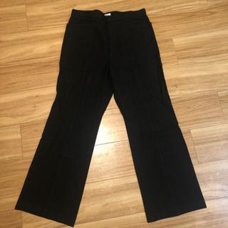 ウエスト約80センチ→76センチ 黒パンツ