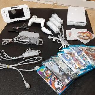WiiU本体、コントローラー、ソフト(WiiU&Wii)