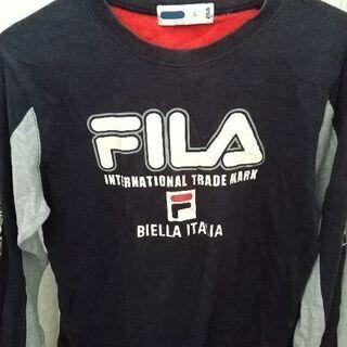 FILAのロングTシャツ。ジュニアLサイズ。(160cm)中古です。