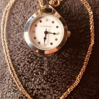 🕓catmint 時計 ネックレス カスタム