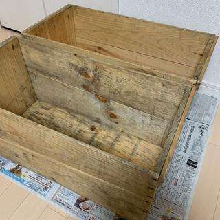 りんごの木箱 2箱セット売り インテリア&収納