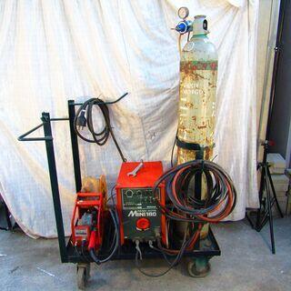 半自動溶接機 200V co2溶接 炭酸ガス MAG パナ…