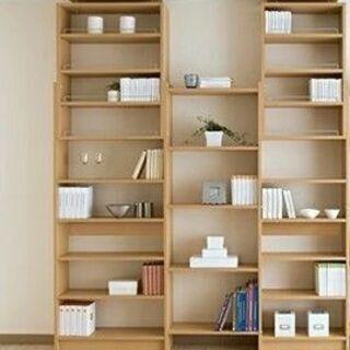 【ネット決済】【東京引取限定】つっぱり書棚 突っ張り式本棚 45...