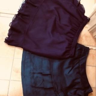 お洒落なスカート2枚セット